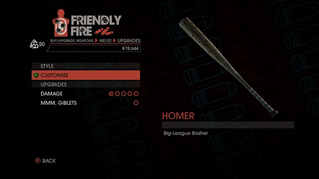 File:Weapon - Melee - Baseball Bat - Upgrades.png