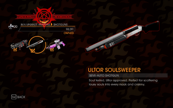 Gat out of Hell - Semi-Auto Shotgun