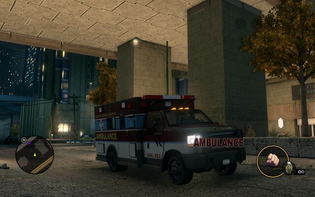 File:Ambulance - front right with logo in Saints Row The Third.jpg