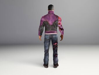 Johnny Gat - Gat out of Hell model - back