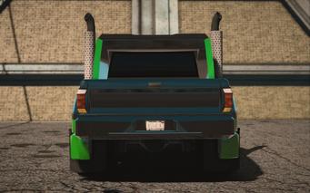 Saints Row IV variants - Compensator luchadore - rear