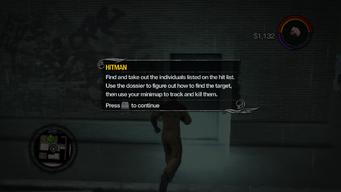 Hitman tutorial in Saints Row 2