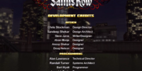 Saints Row credits
