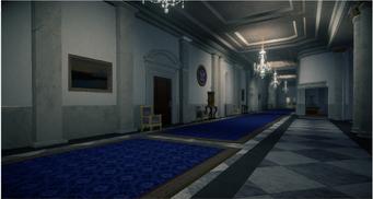 White Crib upstairs hallway