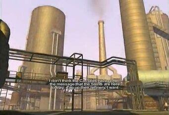 Black Bottom Refinery oil refinery
