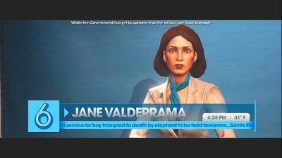 Jane Valderrama STAG Film Saints Row The Third