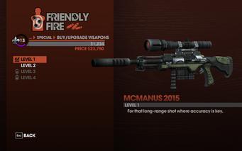 McManus 2015 - Level 1 description