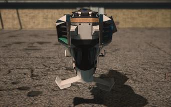 Saints Row IV variants - Specter STAG - rear