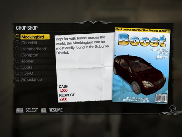 File:Mockingbird - Suburbs Chop Shop list in Saints Row 2.jpg