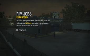 Rim Jobs in Black Bottom purchased in Saints Row 2