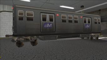 Saints Row variants - El Train - El Train Front - rear right