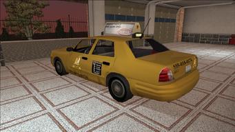Saints Row variants - Taxi - Eagle - rear left