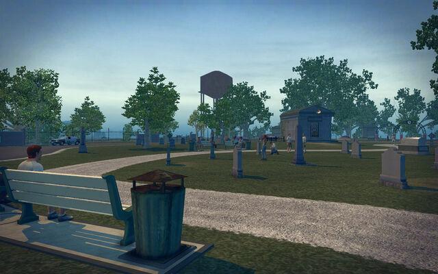 File:Mourning Woods Cemetery - graves.jpg