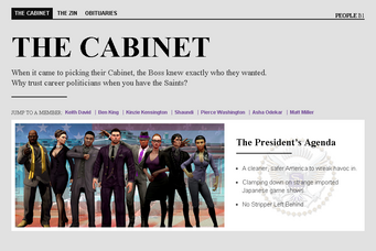 Saints Row website - People - The Cabinet