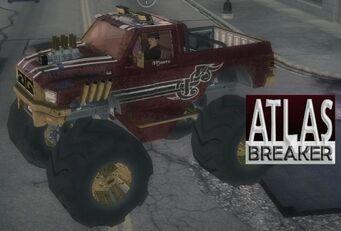 Atlasbreaker with logo in Saints Row 2