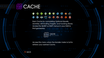 Cache in Saints Row IV