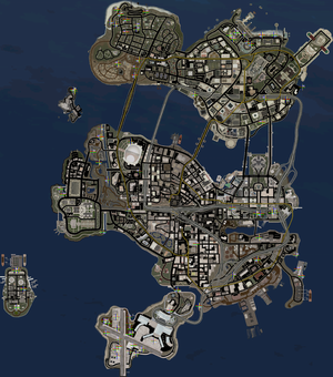 Stunt Jumps - Saints Row 2 map