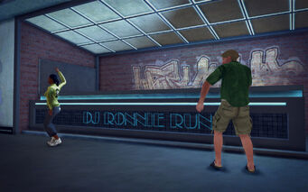 On Track in Saints Row 2 - DJ Ronnie Run