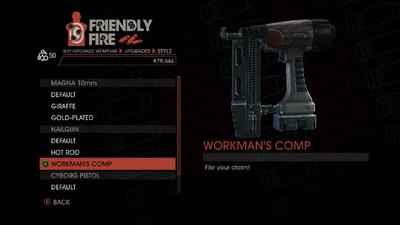 Weapon - SMGs - Rapid-Fire SMG - Nailgun - Workman's Comp