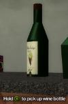Improvised Weapon - wine bottle