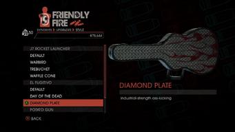 Weapon - Explosives - RPG - El Fugitivo - Diamond Plate