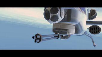 ... and a Better Life - Tornado minigun closeup