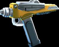 SRIV Pistols - Quickshot Pistol - Red Shirt Special - Interstellar Yellow