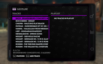 Klassic 102.4 - Saints Row The Third tracklist - top