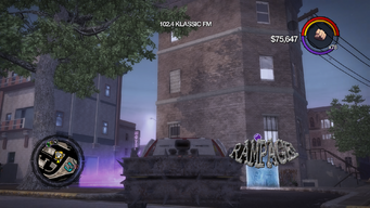 Rampage - front in Saints Row 2