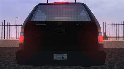 Saints Row variants - FBI - rear