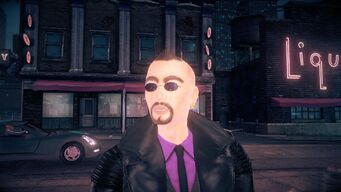 Donnie in Saints Row IV - face