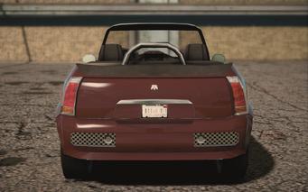 Saints Row IV variants - Halberd ultimate - rear