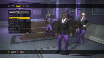 Gang Customization - Gang Style - Bodyguards
