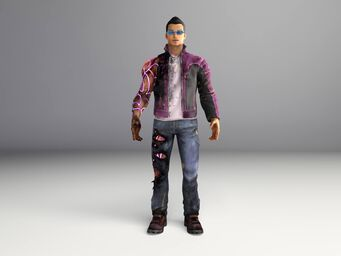 Johnny Gat - Gat out of Hell model - front