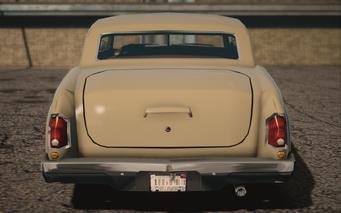 Saints Row IV variants - Gunslinger Average - rear