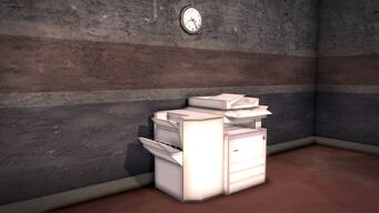 Donnie's - Interior in Saints Row 2 - photocopier
