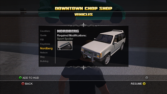 Saints Row Chop Shop - Downtown - Nordberg