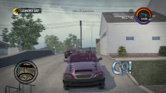 Go! - front in Saints Row 2