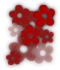 Saints Row 2 clothing logo - flowers