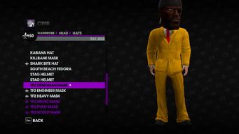 Valve Clothing Pack tf2 mask 1 demoman