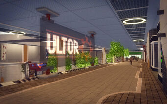Rounds Square Shopping Center - Ultor sign