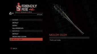 Weapon - Melee - Baseball Bat - Rat Stick - Moldy Oldy