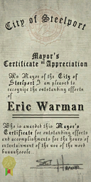 File:Credits - Mayor Certificate - Eric Warman.png