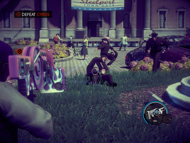 File:Hello Teacup - Defeat Cyrus - shooting a cop with the Dubstep Gun.png