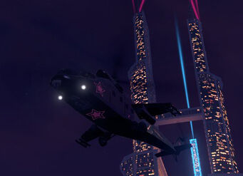 Vulture - left underside in flight in Saints Row The Third
