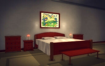 Downtown Loft - Classy - bed