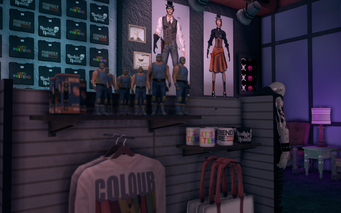 Nobody Loves Me - interior - Luchador figures in Saints Row The Third