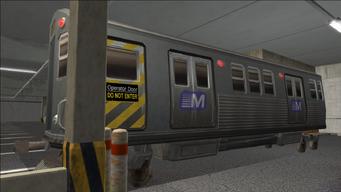 Saints Row variants - El Train - El Train Front - front left