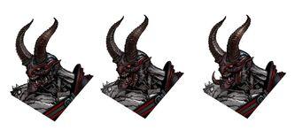 Archduke Concept Art - 3 heads