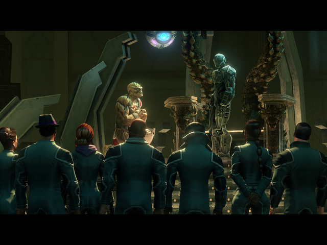 File:Grand Finale Part Four - Zinjai informing the Saints about the ability to Time Travel.png